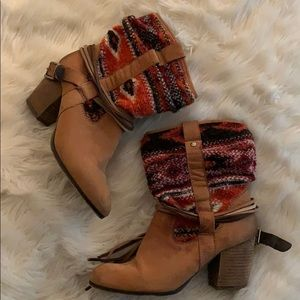 Steven Madden knitted Booties